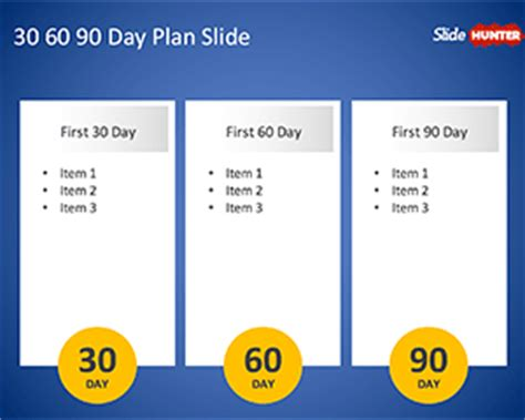 30 60 90 day plan powerpoint template free strategy map powerpoint template