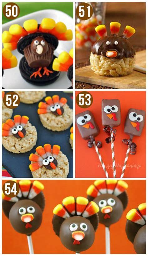 edible thanksgiving crafts for 50 turkey treats thanksgiving food ideas