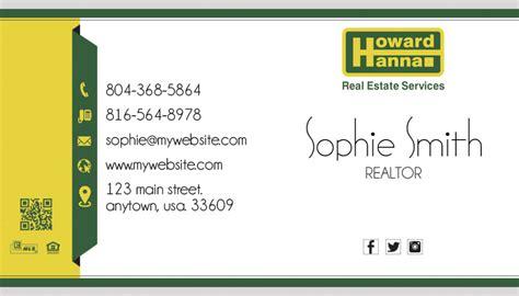 howard business card template howard business card 13 howard business card