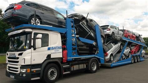 transport porte voiture transports de voiture transports satas