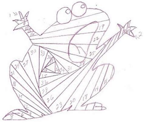 Iris Paper Folding Patterns - free iris paper folding frog1 pattern
