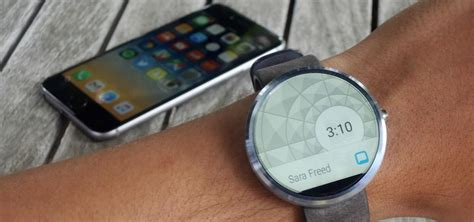 Smartwatch Iphone How To Set Up Use An Android Wear Smartwatch On Your