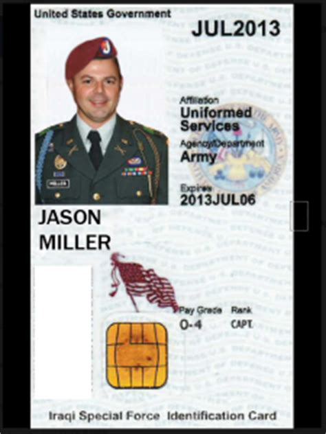 us army id card template cpt maj 2lt jason miller this ain t hell but you can