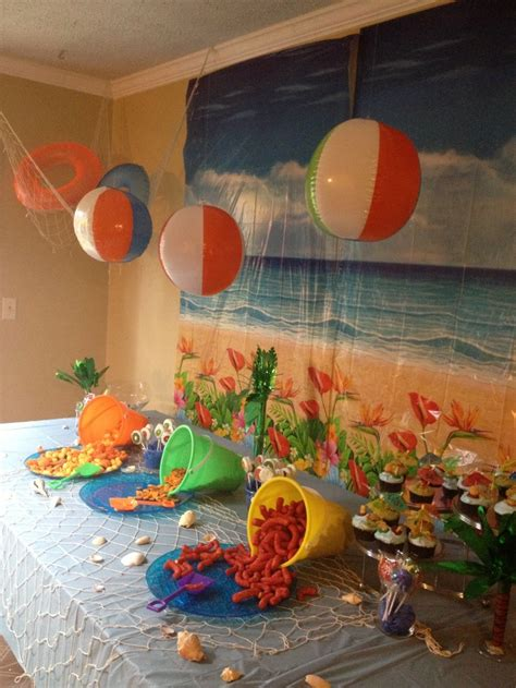 party themes pinterest 91 beach party decorations make your own luau tissue