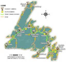 map nfld canada map of newfoundland canada pictures to pin on