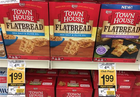 town house crackers keebler town house crackers just 1 44 each with new sale and coupon save 71 super