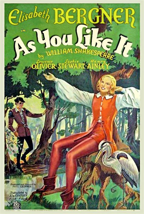 as you like it 1936
