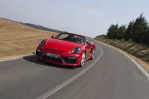 Porsche Boxster Spyder Review 2016 Porsche Boxster Spyder Second Drive Review