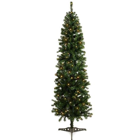 christmas slim prelit spruce tree 6ft on sale fast