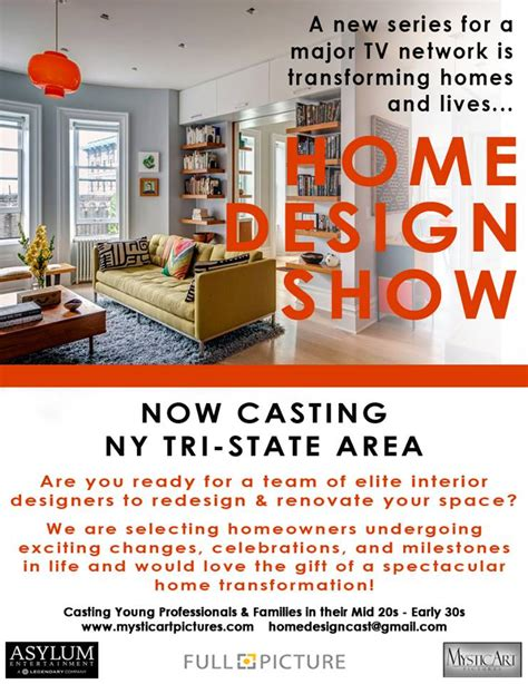 home design show is seeking families in the nyc area