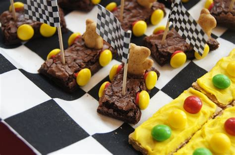 light snacks for party race car and traffic light snacks for cars party levi s
