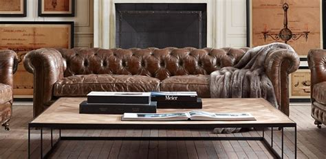 Chesterfield Restoration Hardware by Meet Our Quot Chesterfield Quot Modern