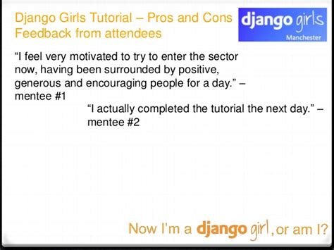 django tutorial create a blog now i am a django girl or am i python northwest feb 2016