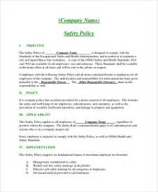 company policies template company policies exles www pixshark images
