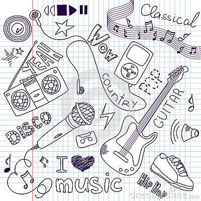 doodle de do song doodles stock photos image 21729773