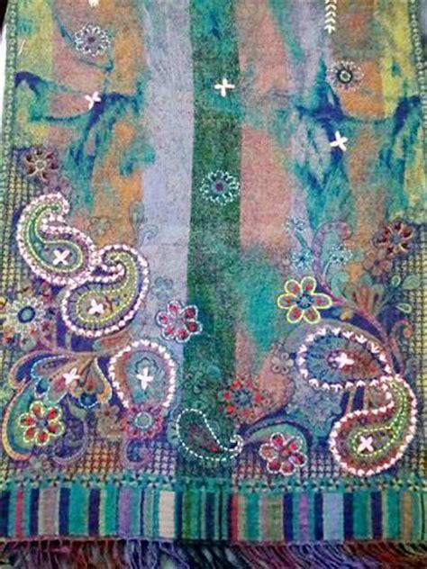 boiled wool embroidery scarves wool scarves silk wool