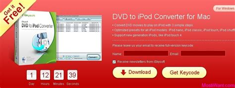 Iskysoft Giveaway - iskysoft dvd to ipod converter registration code for free windows mac most i want