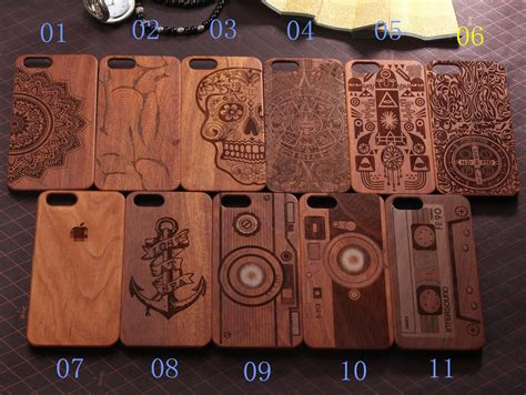 Casing Samsung S7 3d Box Custom Hardcase wooden phone 11 pattern mobile accessories laser