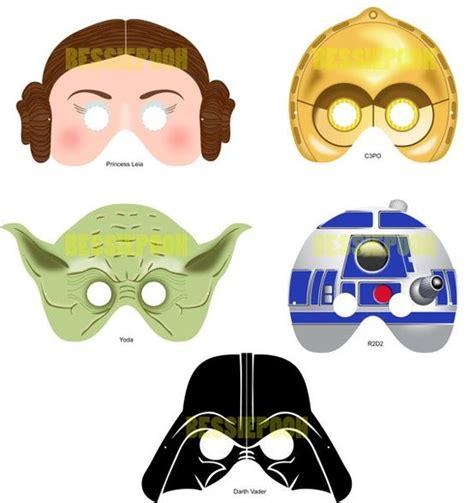 printable mask star wars 9 best images of star wars masks printable pdf star wars