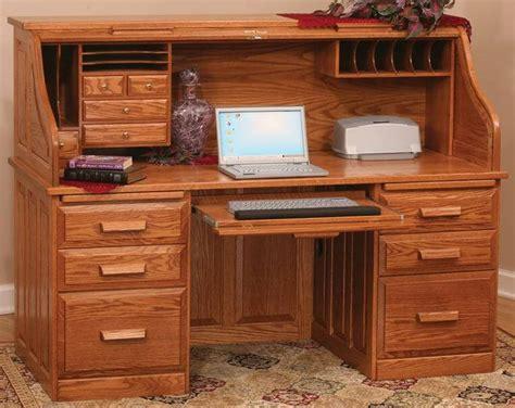 rolltop computer desk computer roll top desk