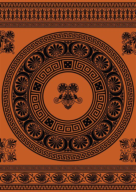 pattern greek vector greek ornamental vectors and brushes by nemaakos on deviantart