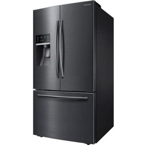 samsung microwave drawer black stainless samsung 28 07 cu ft french door refrigerator in black