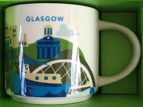 Tumbler Starbucks City Tumbler Scotland you are here glasgow starbucks mugs