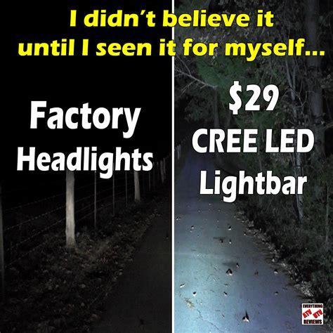 cree light bar review auxbeam cree led light bar everything atv utv reviews