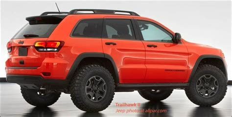 jeep cherokee trailhawk orange blood orange paint highlights the third grand cherokee