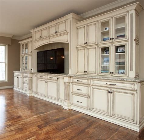 Using Kitchen Cabinets For Entertainment Center Entertainment Center Using Kitchen Cabinets French Vanilla Vandyke Distr Entertainment Center