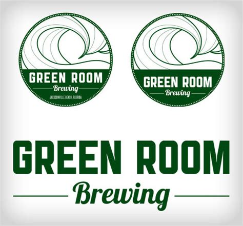 Green Room Brewing by Green Room Brewing On Behance