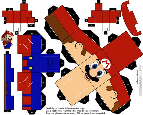 Papercraft Print - paper craft on paper toys printable paper and