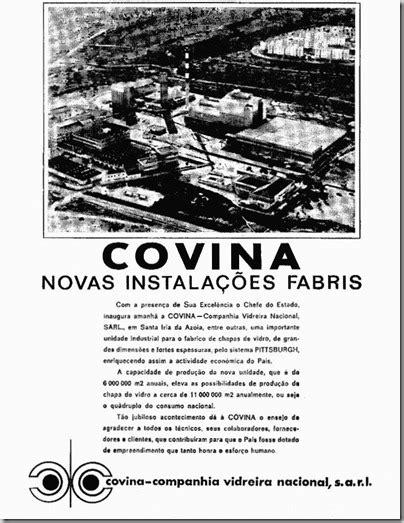"""Assim a """"Covina"""" passou a comercializar: «Plagex», vidro"""