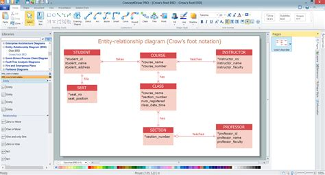 erd drawing software entity relationship diagram software