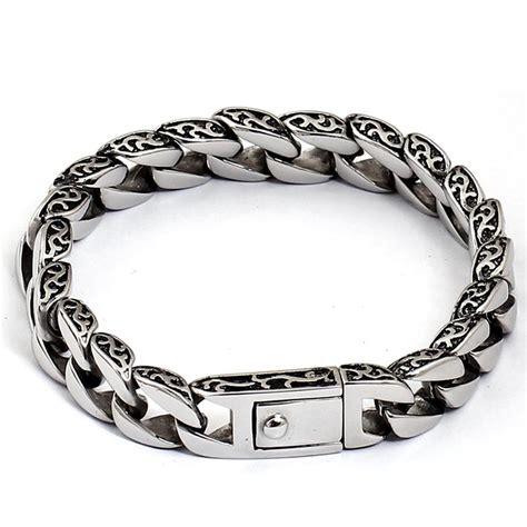 Gelang Pria Titanium s jewelry totem bracelet titanium steel gelang