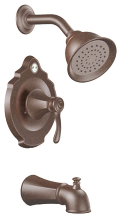moen t2503orb rubbed bronze tub shower valve trim 1