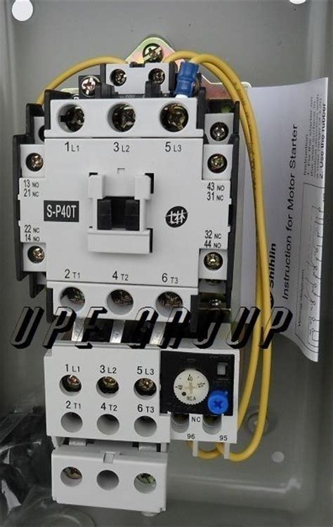 magnetic motor starter 48 15hp 3ph 230v for air
