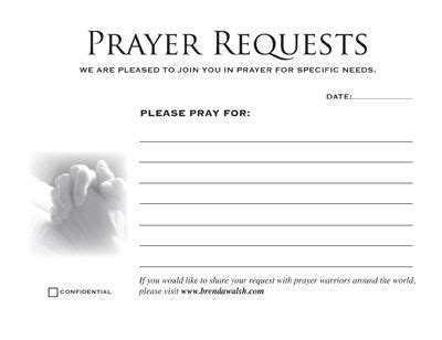 prayer request cards 4x4 template prayer request template search prayer