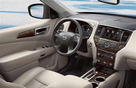 nissan pathfinder 2016 interior 2017 nissan pathfinder platinum interior review armada