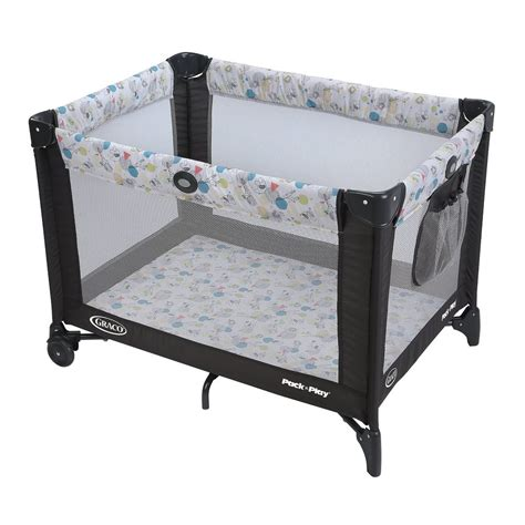 play pen graco pack play playard baby bassinet infant crib playpen cradle folding travel ebay