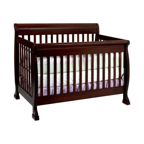 Baby Convertible Cribs Davinci Kalani 4 In 1 Convertible Crib With Bed Rails In Espresso M5501q M4799q Pkg