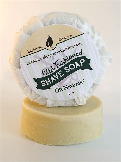 Country Soap Co by Oh Naturale Fashioned Shave Soap 3oz Amish