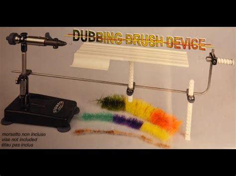 fly fish food dubbing brush table dubbing brush how to doovi