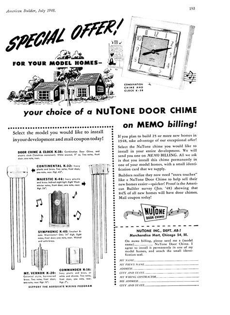 nutone door chimes troubleshooting wiring diagrams