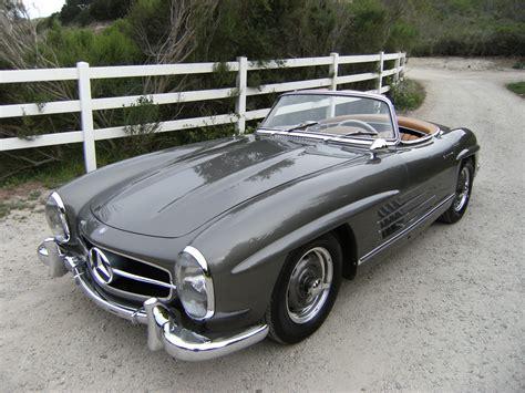 mercedes 300sl for sale sold 1957 mercedes 300sl roadster grundfor