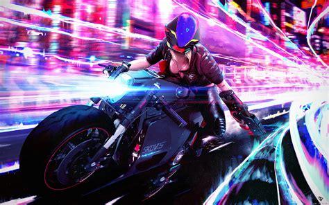 cyberpunk  ultra hd wallpaper background image