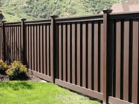 Fencing For Backyard Vinyl Fencing Boulevard Fence