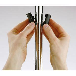 scaffali filo acciaio scaffale grigliato in filo d acciaio cromato m45722