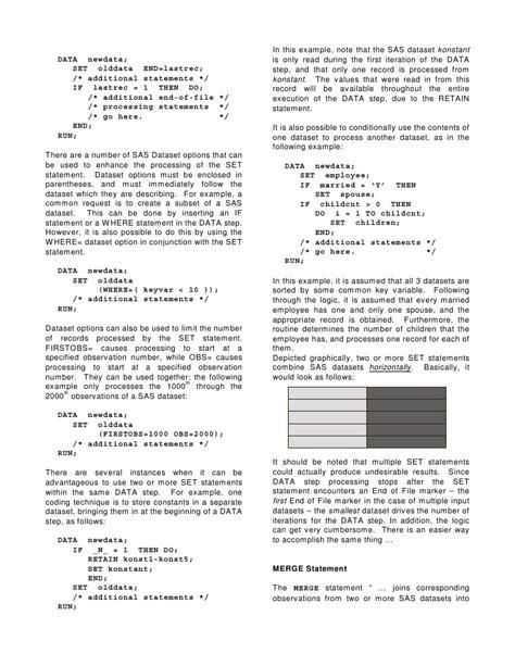 Set, merge, and update