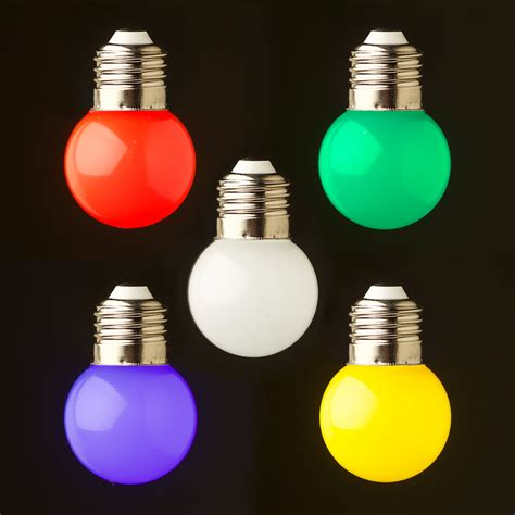 24v Fancy Round 5w Led Cool Clear Festoon Bulb Led Coloured Lights